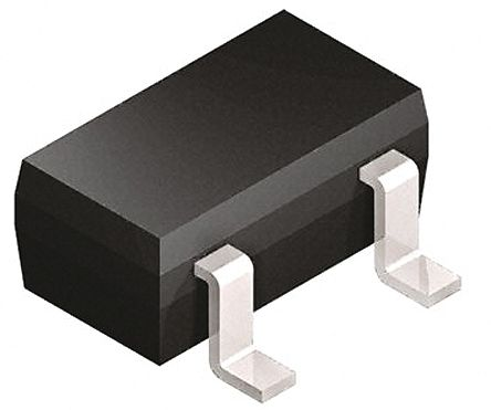Infineon BB914E6327HTSA1 Dual Common Cathode Varactor Diode, 17.6pF min, 2.28:1 Tuning Ratio, 18V, 3-Pin SOT-23