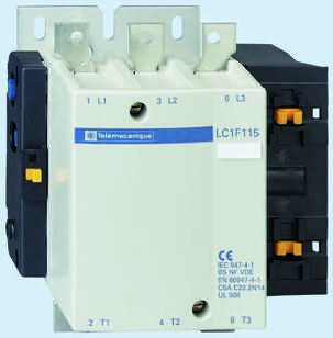 Schneider Electric 3 Pole Contactor, 400 A TeSys F, 3NO, 250 kW