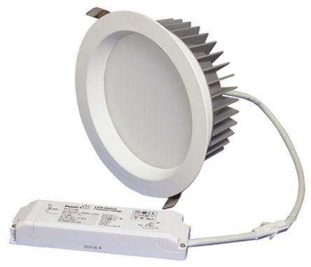 22W 4000K Dimming LED Downlight White