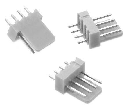 Wurth Elektronik WR-WTB, 2.54mm Pitch, 3 Way, 1 Row, Straight PCB Header, Through Hole