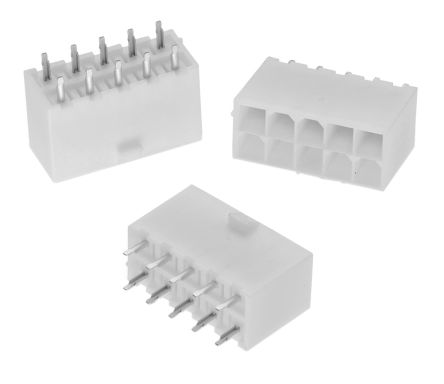 Wurth Elektronik WR-MPC4, 4 2mm Pitch, 24 Way, 2 Row, Straight PCB Header,  Through Hole