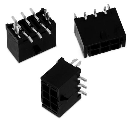 Wurth Elektronik WR-MPC3, 2 Way, 2 Row, Straight PCB Header