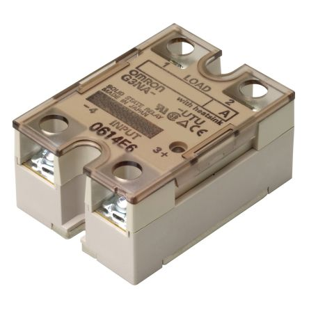 Omron 25 A Solid State Relay, Zero Cross, DIN Rail, Photocoupler on