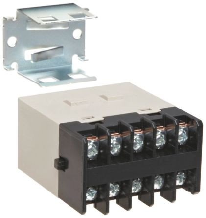 Omron DPDT Non-Latching Relay Panel Mount, 24V dc Coil, 25 A on