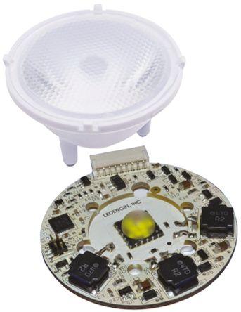 LedEngin Inc LTC-P3T12447H-1A3 , LuxiTune Circular LED Light Engine, 1 White LEDs (2100 → 4300K), 24 W, 21