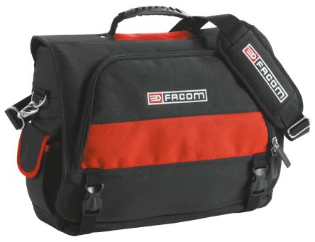 Facom Polyester Tool Bag with Shoulder Strap 460mm x 150mm x 350mm