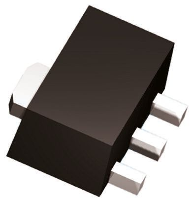 DN3535N8-G N-Channel MOSFET, 230 mA, 350 V Depletion, 4-Pin TO-243AA Microchip