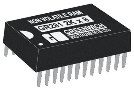 STMicroelectronics M48T12-150PC1, Real Time Clock (RTC), 16kbit RAM, 24-Pin PCDIP