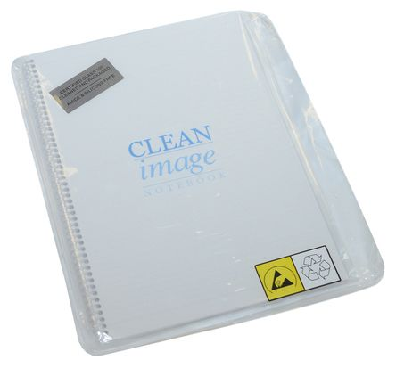 Cleanroom Notebook 270mm x 315 mm product photo