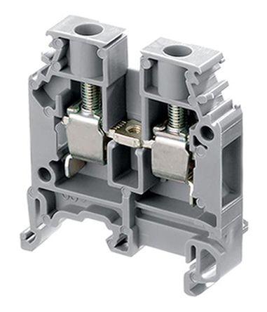 Entrelec 1SNA400187R2200, Feed Through Screw Clamp Terminal Block, SNA Series