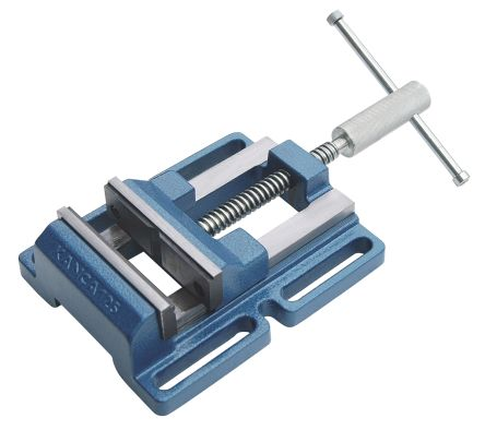 RS PRO Drill Press Vice x 32.5mm 100mm x 100mm, 5.4kg