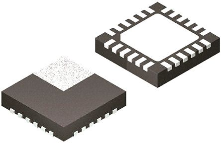 STMicroelectronics LNBH26LSPQR PWM Switching Regulator, 500 mA, 440 kHz, Adjustable, 19.82 V, 24-Pin, QFN