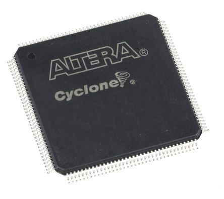 Altera FPGA EP4CE10E22I7N, Cyclone 10320 Cells, 10320 Gates, 423936, 645 Blocks, 144-Pin EQFP