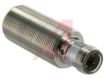 Turck M12 x 1 Inductive Sensor - Barrel, PNP-NO Output, 8 mm Detection, IP67, M12 - 4 Pin Terminal