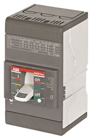 3P 250 A MCCB Molded Case Circuit Breaker, Breaking Capacity 36 kA, DIN Rail Mount Protecta XT3N
