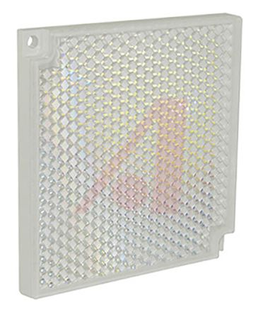Sensor Reflector for use with MINI-BEAM, RMB100, RMB85, SMBAMSR85P, 84.5 x 84.5 mm Square product photo