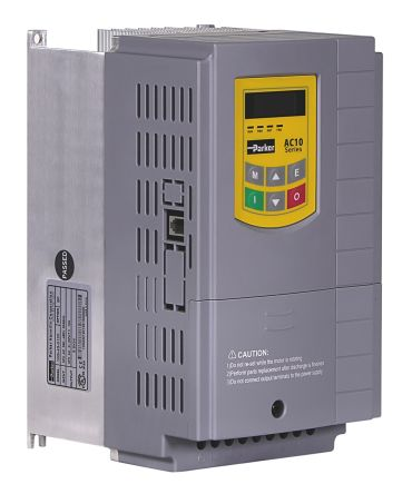 Inverter Drive, 3-Phase In, 0.5 -> 650Hz Out 3 kW, 400 V with EMC Filter, 11.6 A AC10, IP20, RS485 ModBus product photo