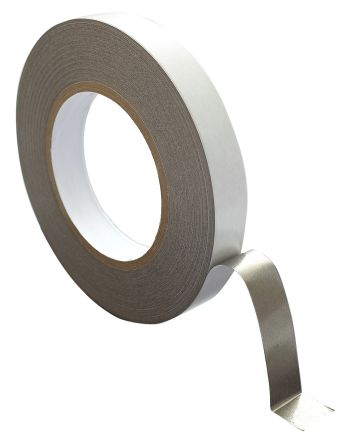 HB 350 White Double Sided Fabric Tape, 19mm x 50m, 0.05mm Thick product photo