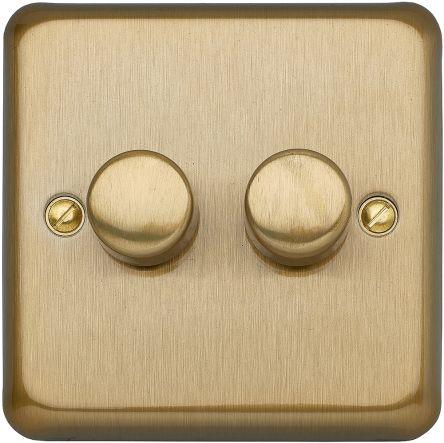 2 Way 1 Gang Dimmer Switch, 250W, 230 V