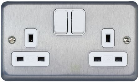 K2948brc Mk 2 Gang Switched Electrical Socket Type G