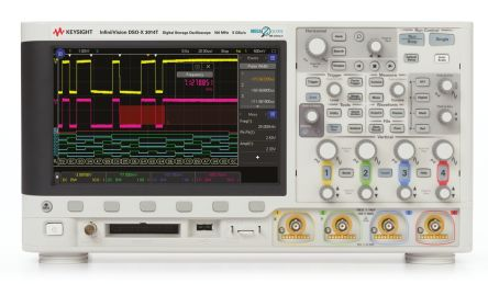 Keysight Technologies 3000 X Series DSOX3014A Digital Oscilloscope, 4 Analogue Channels, 100MHz