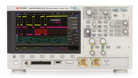 InfiniiVision 3000A X-Series MSO; 100 MHz; 2 Channel; 8.5 in. Touch Screen