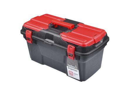 RS PRO Plastic Tool Box dimensions 494 x 263 x 250mm