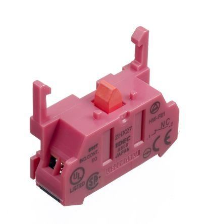 Idec HW Series Contact Block 1NC 600 V Fingersafe terminal