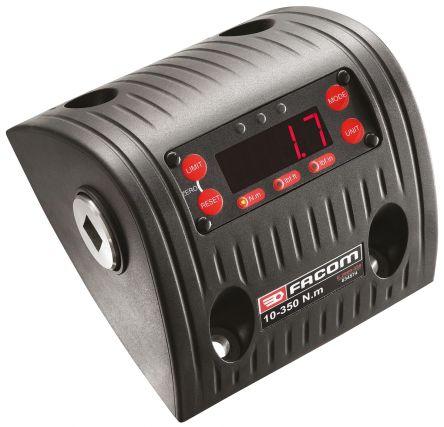 Facom E.2000-350 Square: 1/2in Digital Torque Tester, Range 10 → 350Nm ±1 % Accuracy