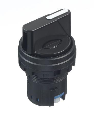 Idec IDEC HW Selector Switch Head - 3 Position, Spring Return, 22mm cutout