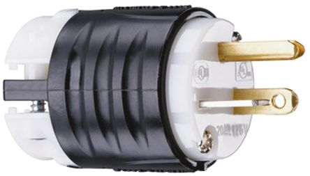 Compact Industrial Adapter NEMA 6-20P to NEMA L6-20R by AC WORKS™