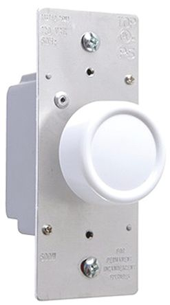 1 Way 1 Gang Dimmer Switch, 600W, 120 V