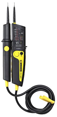 Beha-Amprobe 2100-alpha, LED Voltage tester, 690V ac/dc, Continuity Check, Mains Powered, CAT III 690V