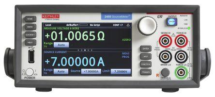Keithley 2460 Sourcemeter 2 Ω → 20 MΩ 1μA → 7A 200mV → 100V 100 W