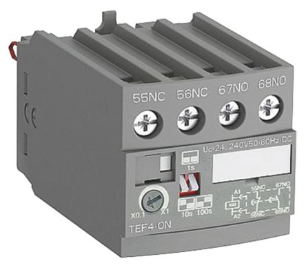 AF Range TEF4 Series ON Delay Electronic Timer, NO/NC Contacts product photo