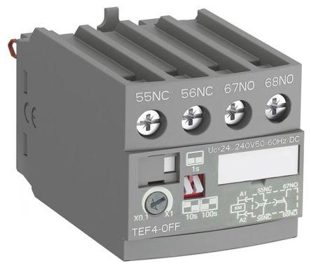 TEF4-OFF Elec Timer,AF09..AF38+NF Relays