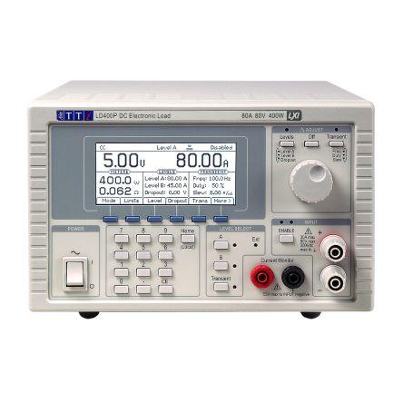 Aim-TTi Electronic Load LD400 Series LD400P 0 → 80 A 0 → 80 V 0 → 400 W, 0.04 → 10 Ω @