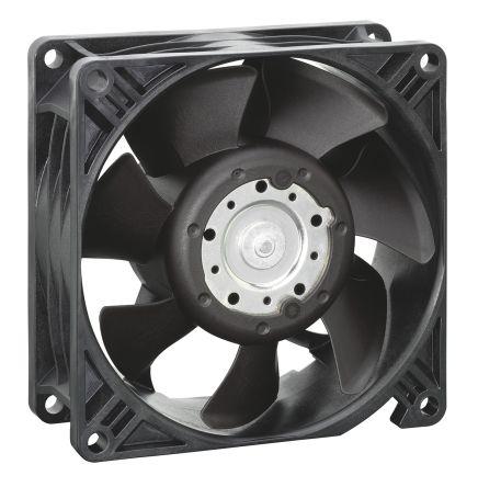 3250J Series Axial Fan, 92 x 92 x 38.15mm, 270m³/h, 35W, 24 V dc product photo