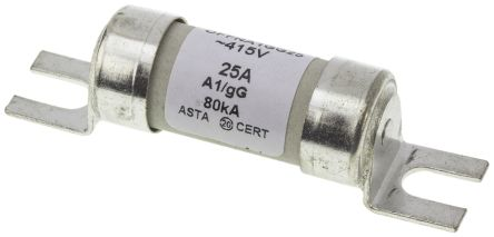 ABB, 25A, A1, Bolted Tag Fuse, gG, 415V