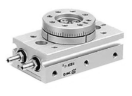 Rotary Actuator, Single Acting, 190° Swivel, 1mm Bore, product photo