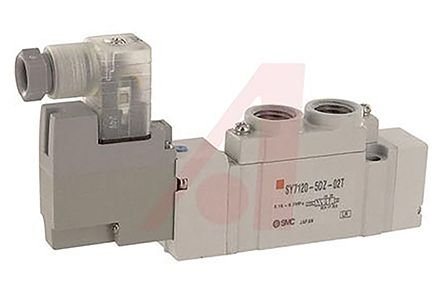 5/2 Pneumatic Solenoid/Pilot-Operated Control Valve Solenoid/Pilot NPTF 1/4 SY7000 Series product photo
