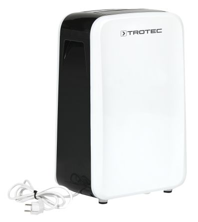 RS PRO TTK Dehumidifier, 2L water tank, 20L/day extraction rate Type G - British 3-pin