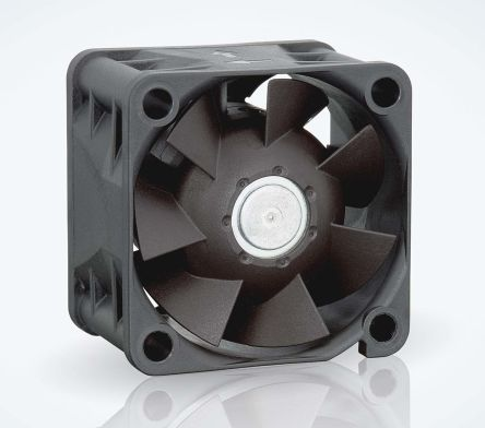 ebm-papst 420J Series Axial Fan, 40 x 40 x 28mm, 38m³/h, 6.9W, 24 V dc