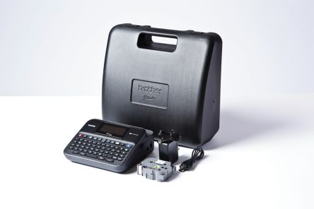 BROTHER PT-D600VP Label Printer with QWERTY Keyboard, UK Plug