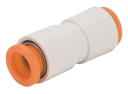 KQ2 Pneumatic Straight Tube-to-Tube Adapter, Push In 5/32 in product photo