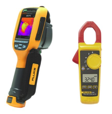 Fluke 324 Thermal Imaging Camera, Temp Range: -20 → +250 °C 80 x 80pixel