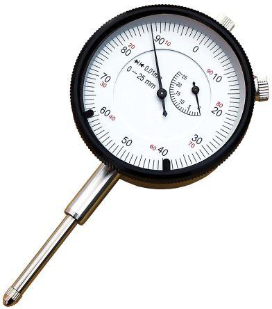 RS PRO Plunger Dial Indicator, Range Maximum of 1 in