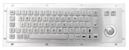 920 005216 | Logitech Keyboard Wired USB, Nordic Black | RS