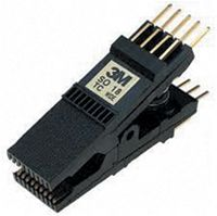 SOIC test clip, .300 body, 18 pin, gold