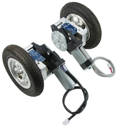 Parallax Inc Arlo Mobile Robot Motor & Wheel kit Accessory 28962